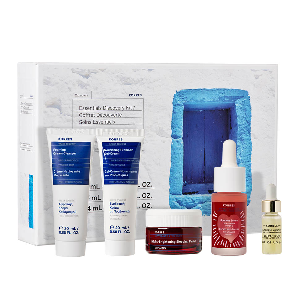 Korres Hydration + Dark Spot Reduction Essentials Discovery Kit 01