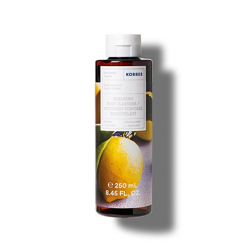 Korres RENEW + HYDRATE Basil Lemon Renewing Body Cleanser