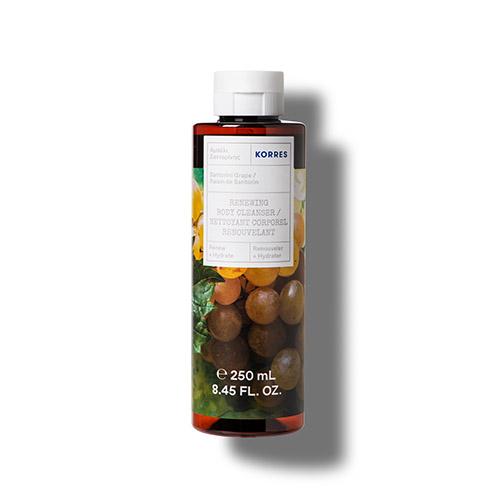 Korres RENEW + HYDRATE Santorini Grape Renewing Body Cleanser