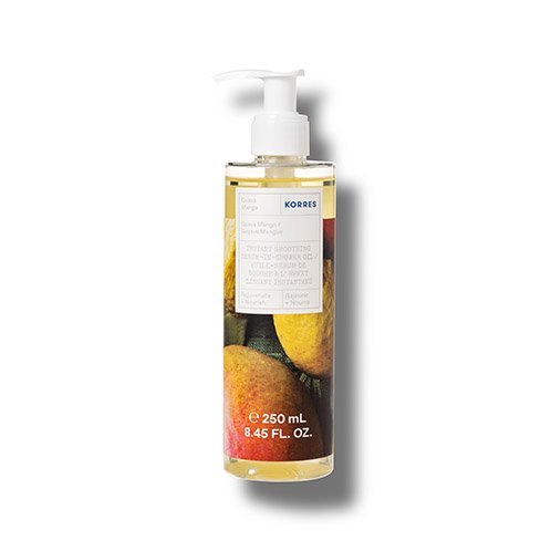 Korres REJUVENATE + NOURISH Guava Mango Instant Smoothing Serum-In-Shower Oil