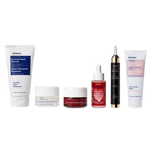 Korres BRIGHTEN + NOURISH Iconic Skincare Collection