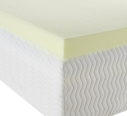 Essentials 5cm 40kg Memory Foam Mattress Topper