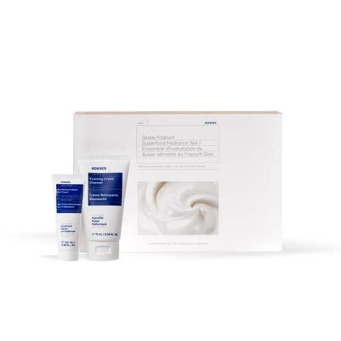 Korres PERFECT GIFT Limited Edition Greek Yoghurt Superfood Hydration Set
