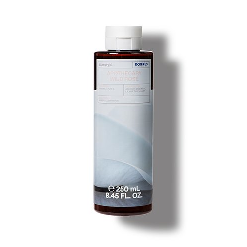 Korres CLEANSE + HYDRATE Apothocary Wild Rose Shower Gel