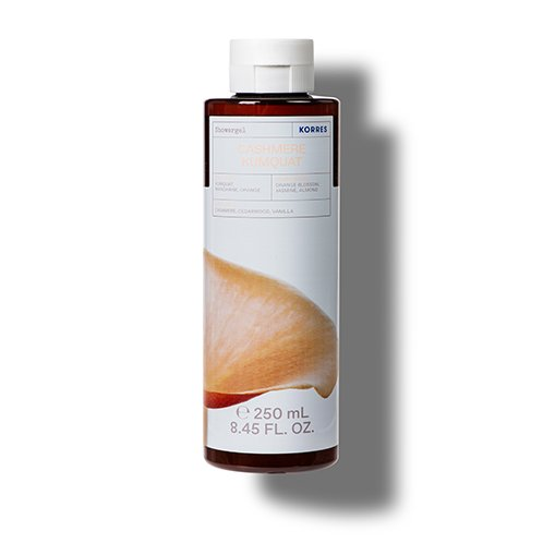Korres CLEANSE + HYDRATE Cashmere Kumquat Shower Gel