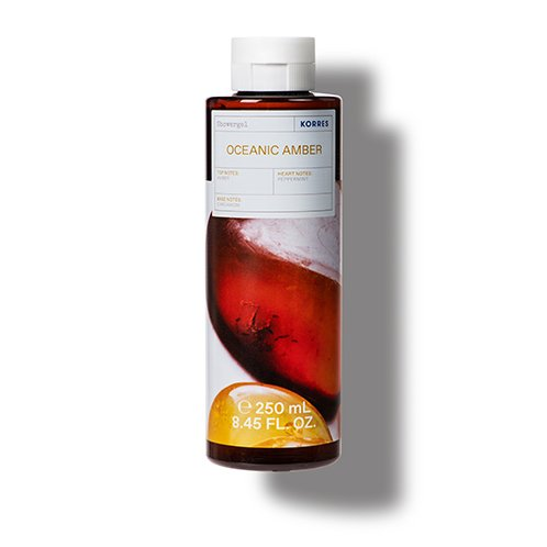 Korres CLEANSE + HYDRATE Oceanic Amber Shower Gel