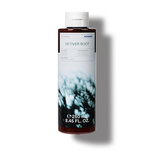 Korres CLEANSE + HYDRATE Vetiver Root Shower Gel