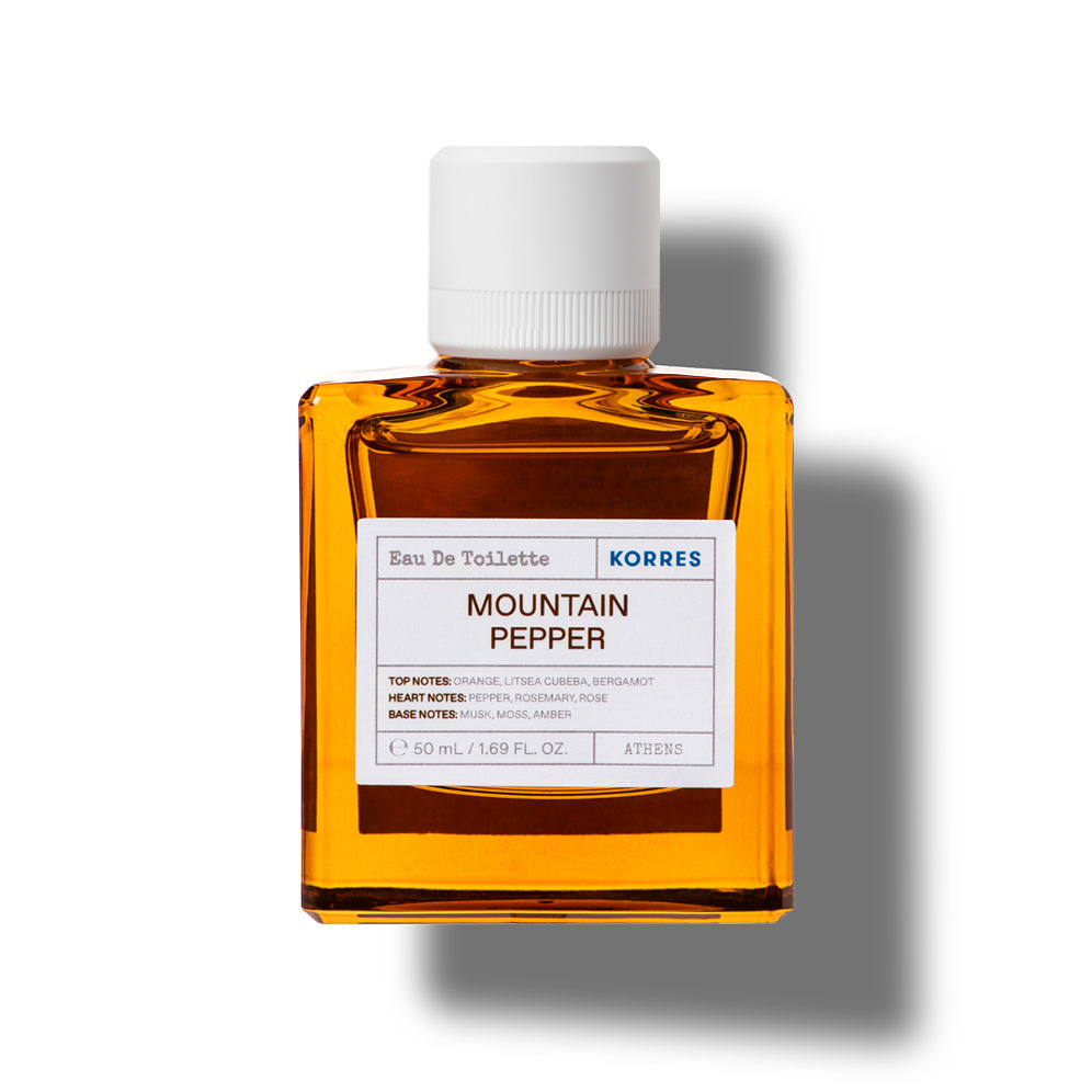 Korres Fragrance Mountain Pepper Eau de Toilette 01