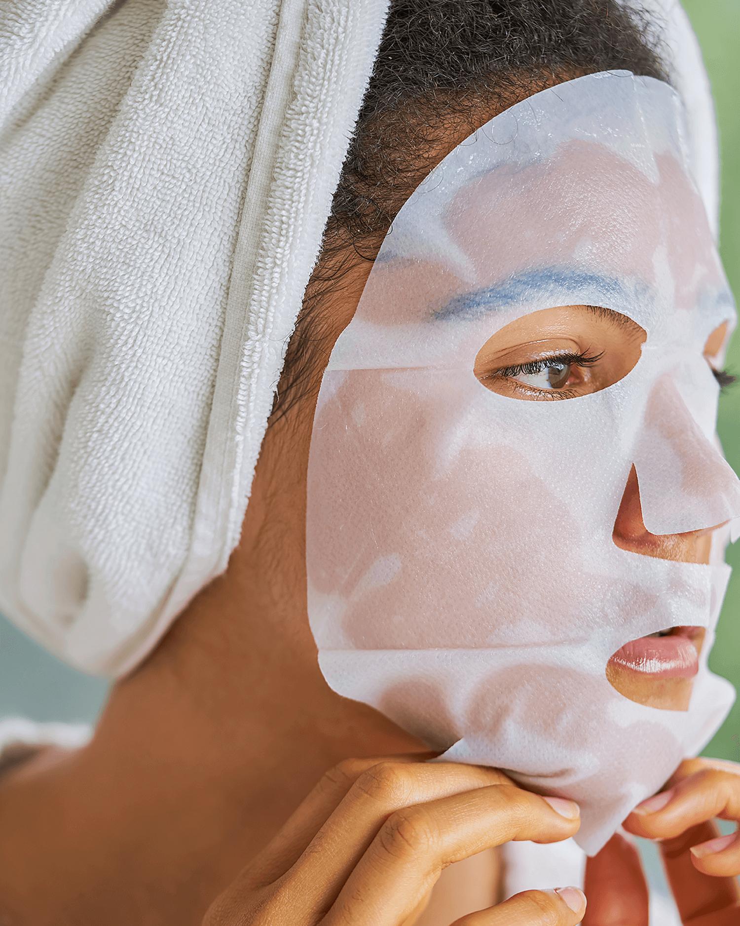 Hydrate Biocellulose Sheet Mask Set