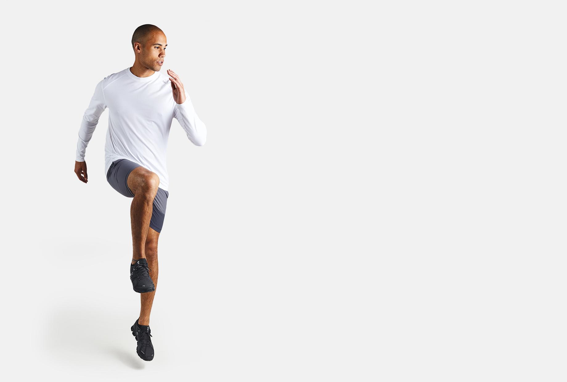 Men's bamboo Carrollton long sleeve t-shirt by tasc Performance