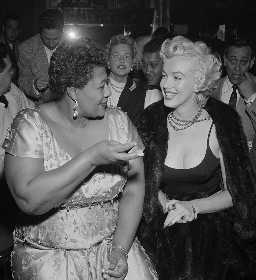 Ella and Marilyn