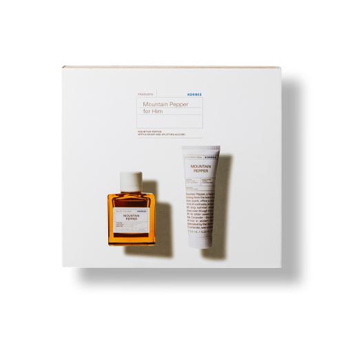 Mountain Pepper Eau de Toilette Geschenk-Set für Ihn Thumbnail