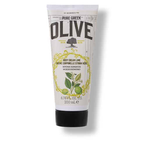 Pure Greek Olive & Lime Körpercreme