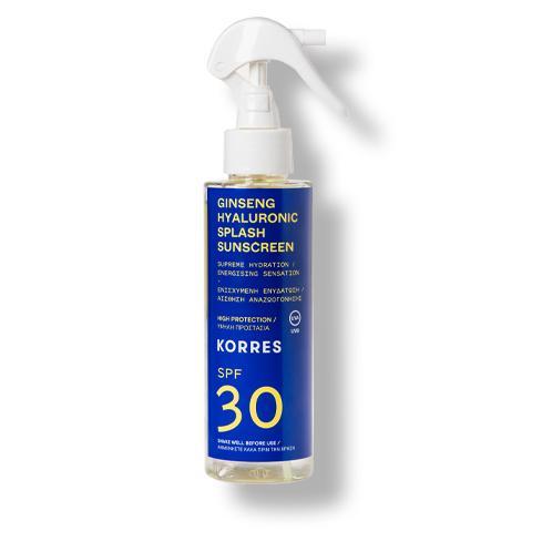Ginseng Hyaluronic Splash  2-Phasen-Sonnenschutzspray für Gesicht + Körper SPF30 Thumbnail