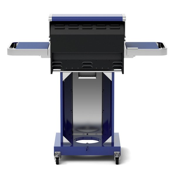 2 Burner Propane Gas Grill Blue