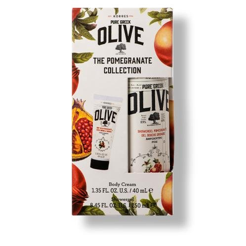 The Pure Greek Olive & Pomegranate Körperpflege-Set Thumbnail