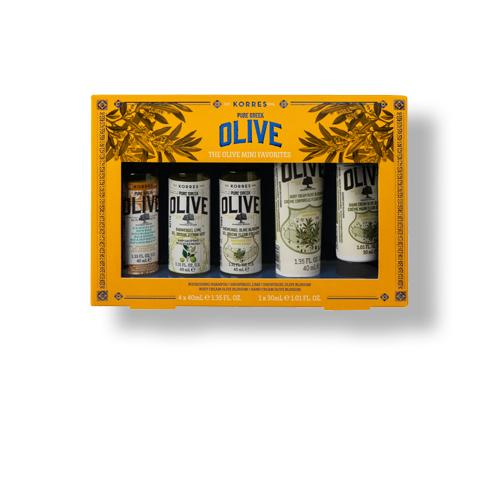 Pure Greek Olive Favorites Reisegrößen-Set