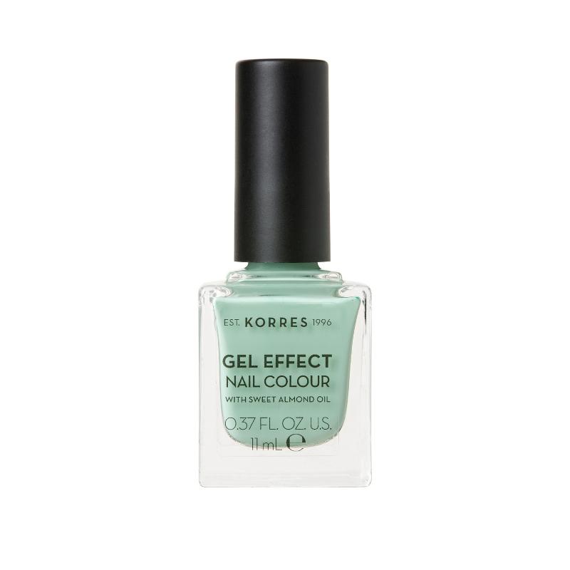 Sweet Almond Oil Gel-Effekt Nagellack - Nr. 35 Mint green Thumbnail
