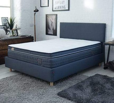 Sid Denim Memory Foam Mattress