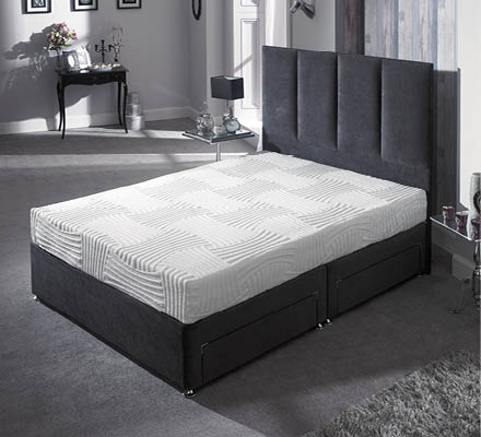 20cm Memory Foam Mattress with Adaptive Cover - Superking