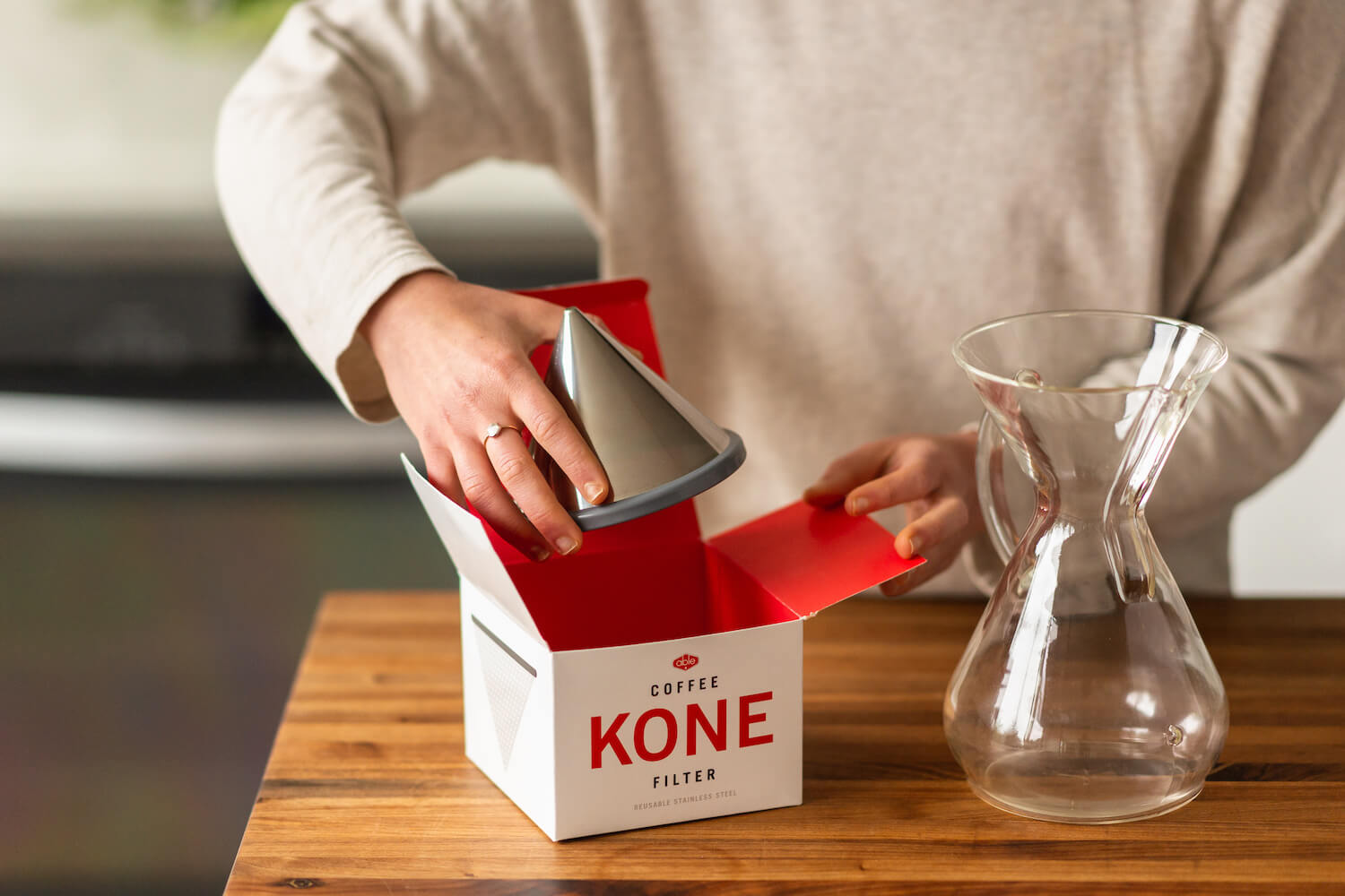 Ratio Kone Coffee Filter by Able key feature 2