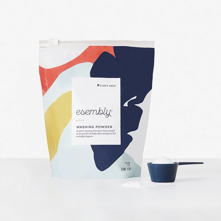 A front view of Esembly Pail Deodorant