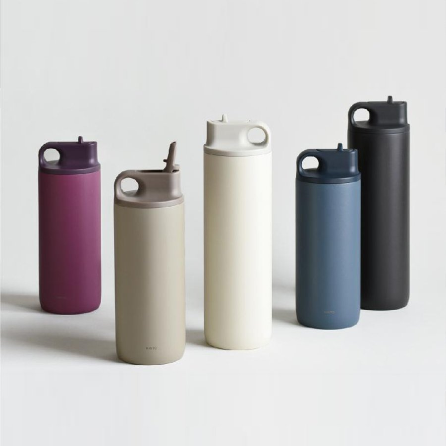 KINTO ACTIVE TUMBLER REPLACEMENT LID 600ML / 800ML ASH PINK