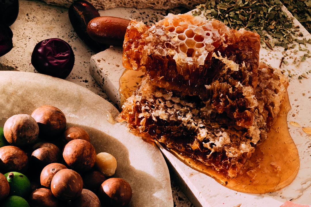 Tasmanian Leatherwood Honeycomb 250g   Milk Chocolate