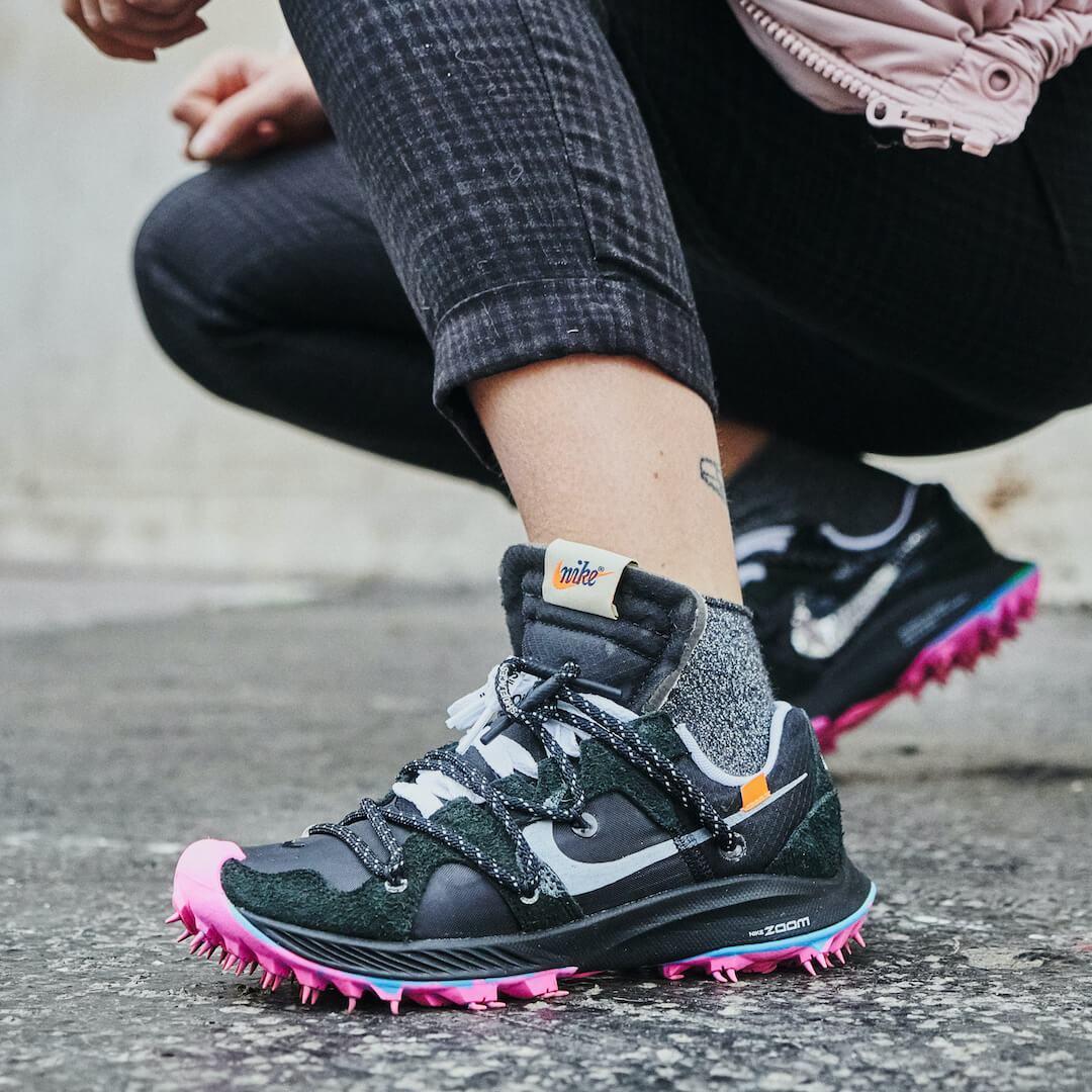 Nike Zoom Terra Kiger 5 Off-White Black