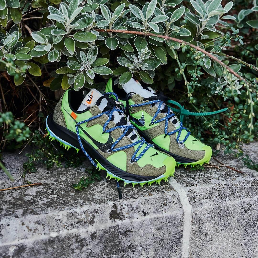 Nike Zoom Terra Kiger 5 Off-White Volt