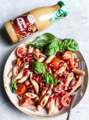 Agave & Mustard Pasta Salad by @charleyshealth