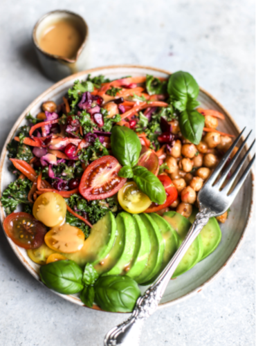 Tofu Island Rainbow Bowl by @charleyshealth