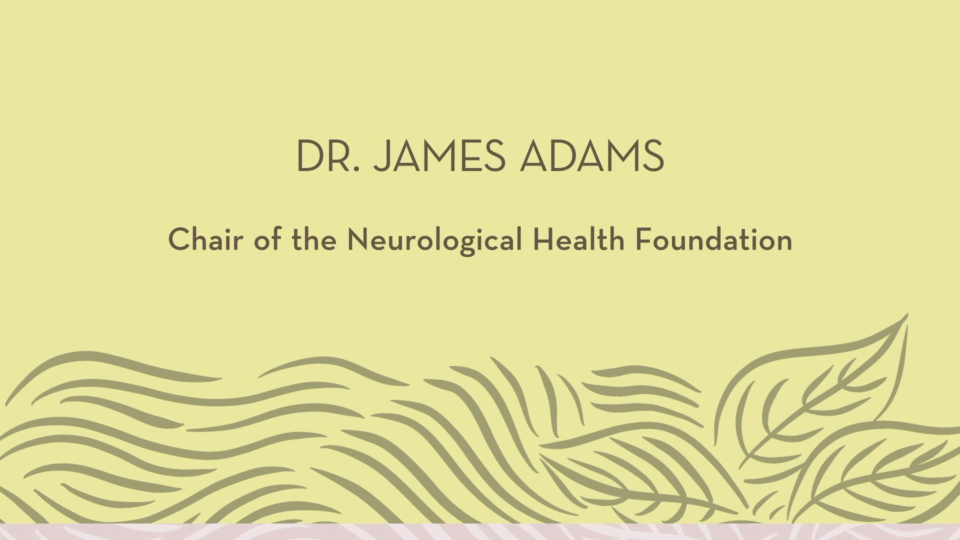 Dr. Adams | Introduction