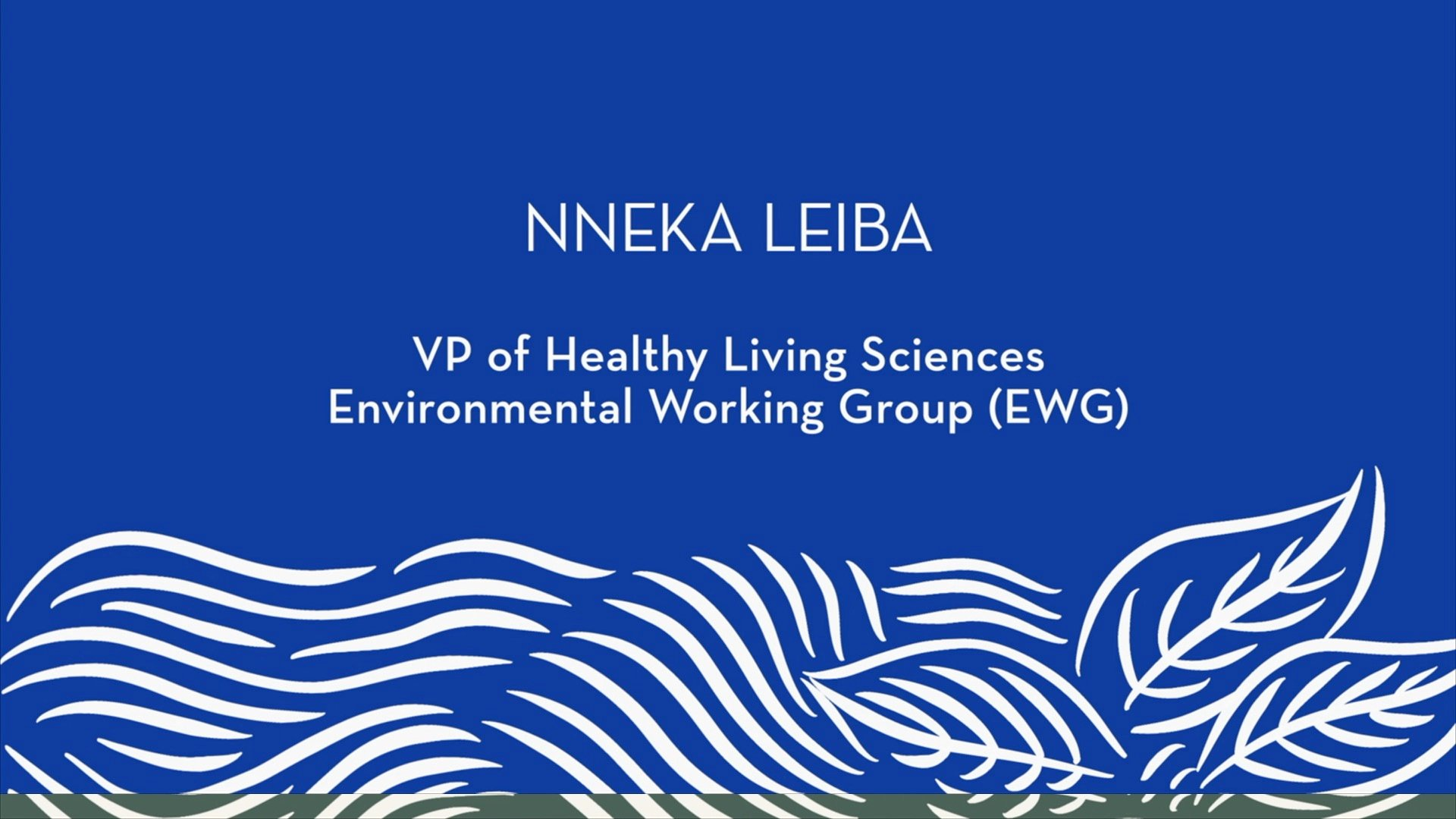 Nneka Leiba | Introduction