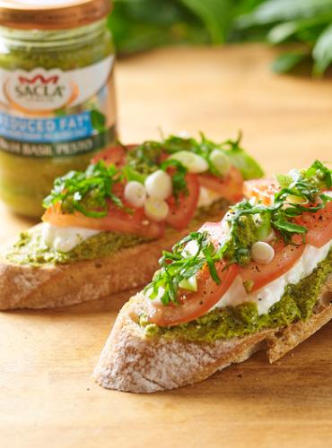 Open Sourdough Sandwich