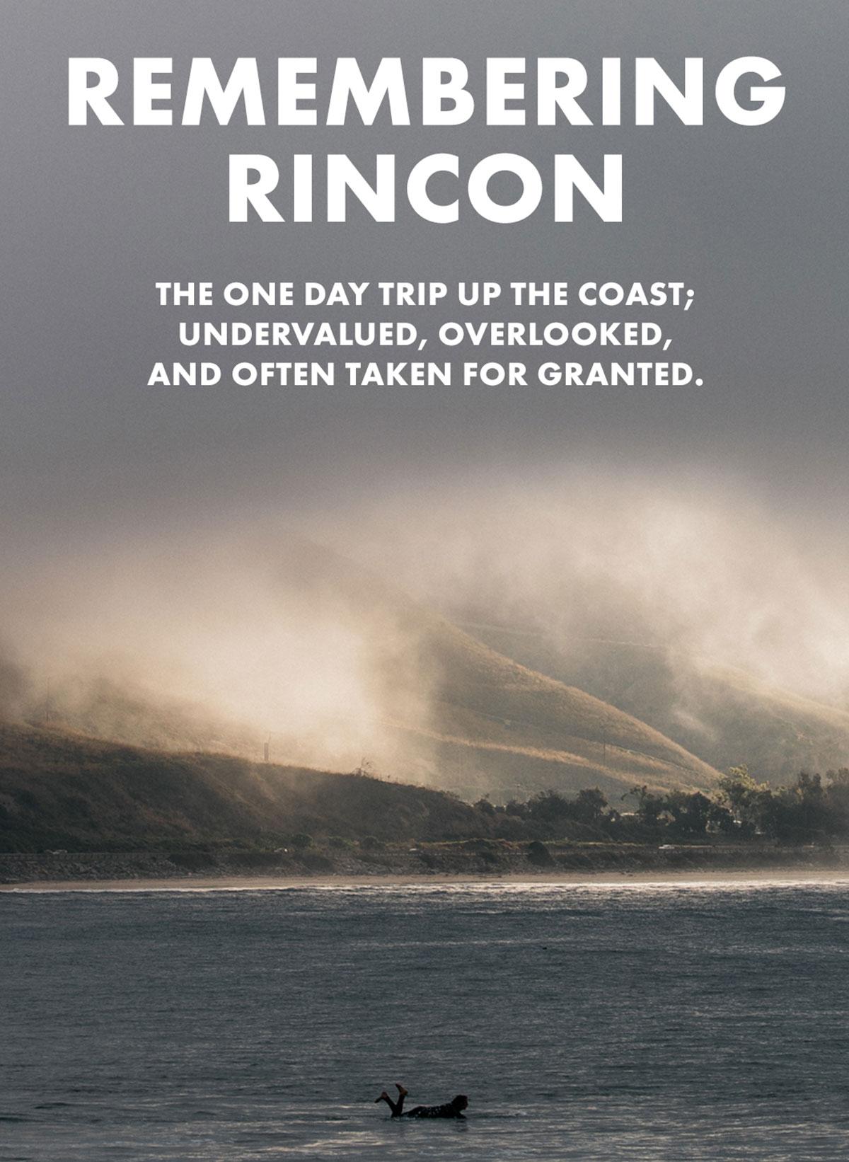 REMEMBERING RINCON
