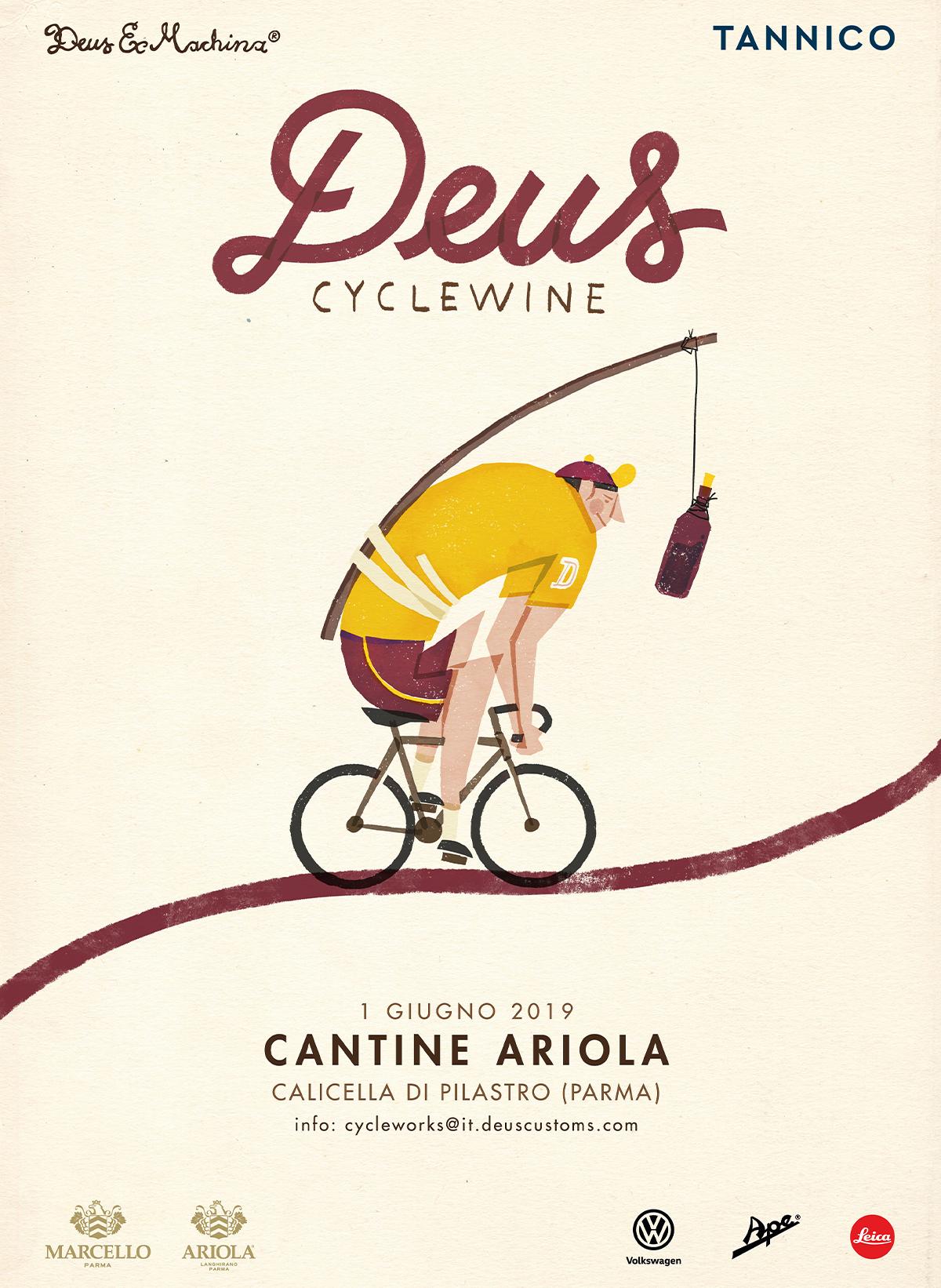 Deus Cyclewine - Cantine Ariola