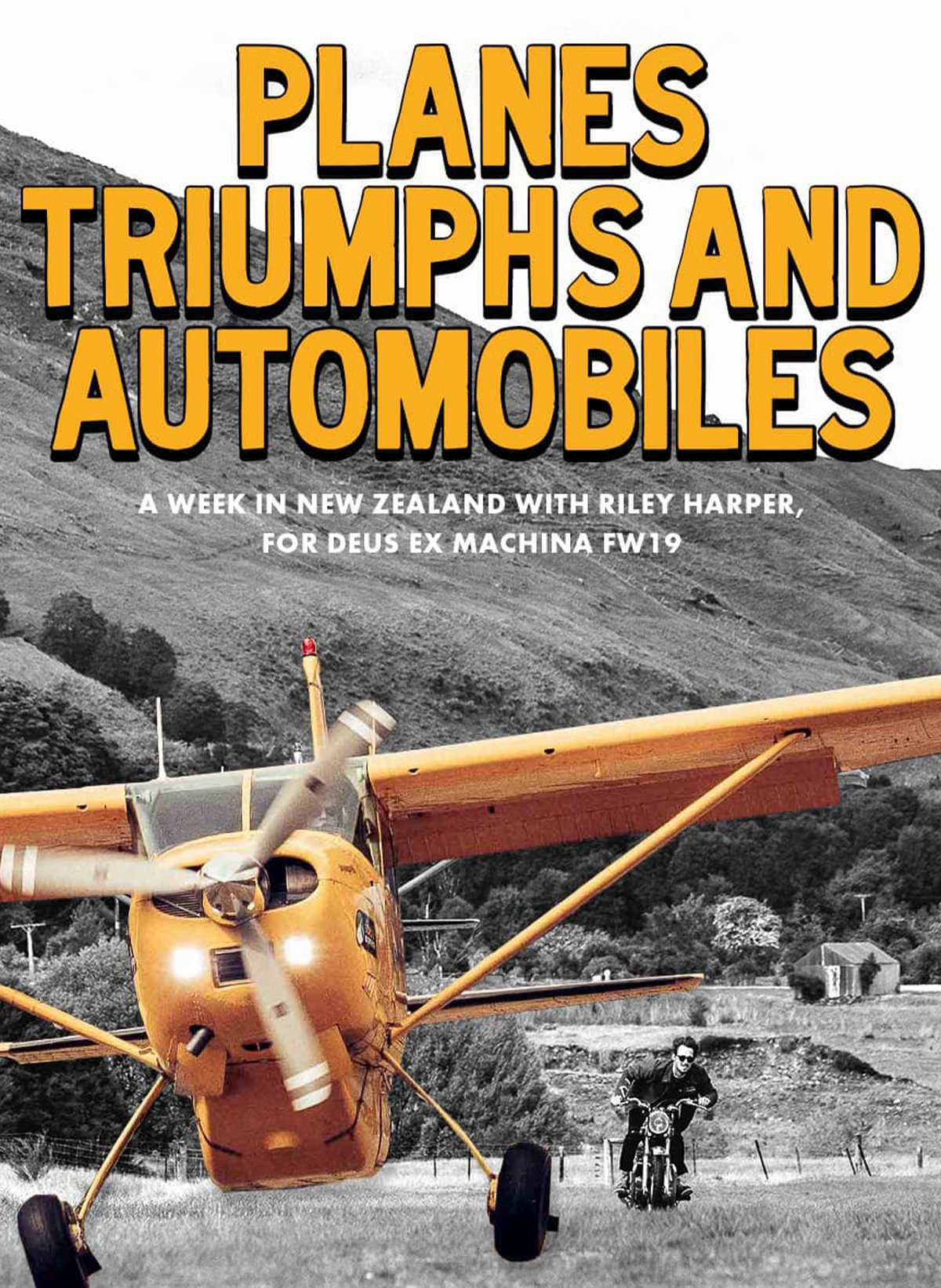 Planes, Triumphs & Automobiles - Behind The Scenes in New Zealand