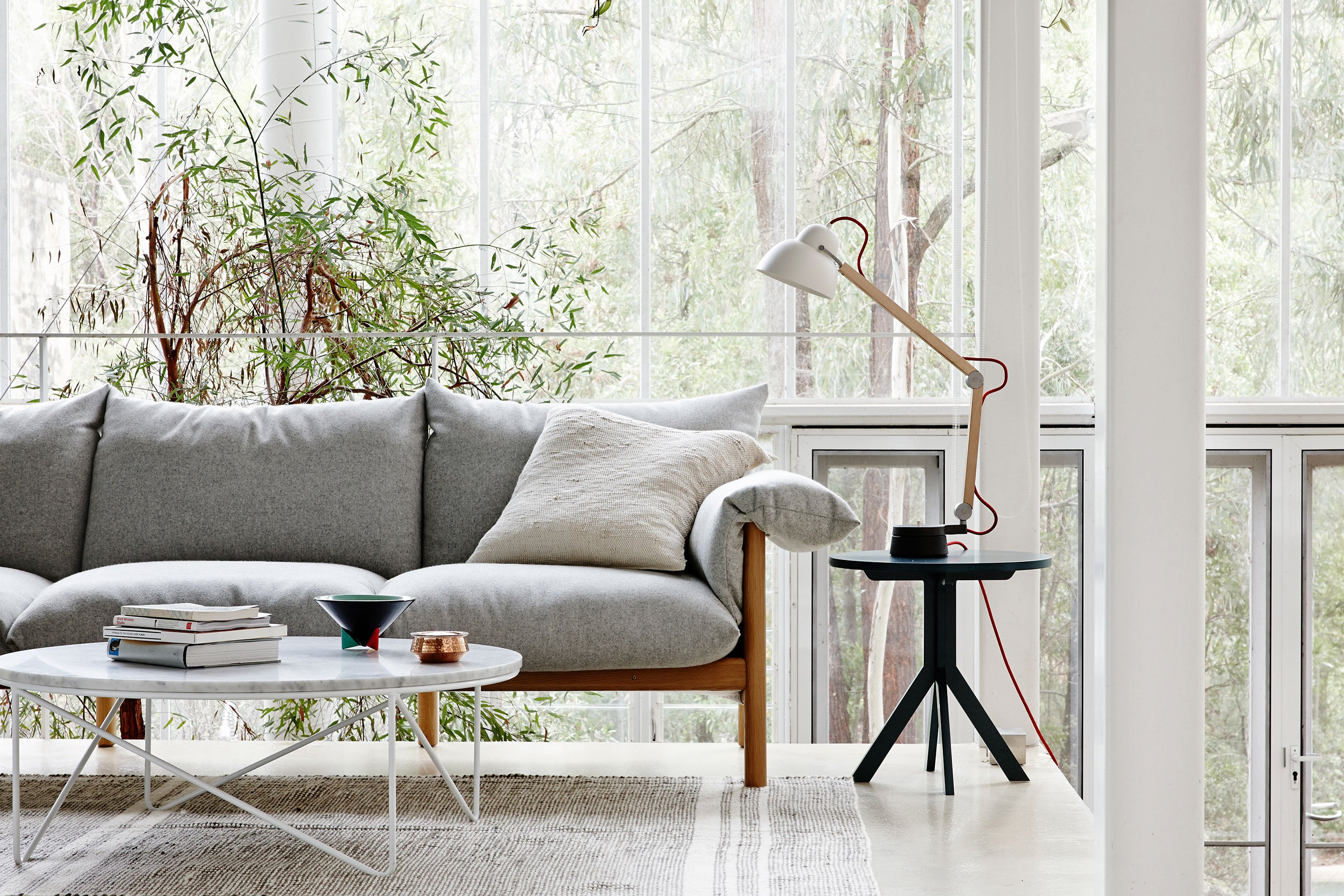Wilfred Sofa + Fred Coffee Table