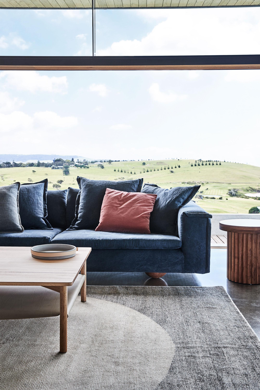 Tuck Side Table, Sunny Sofa + Ace Side Table