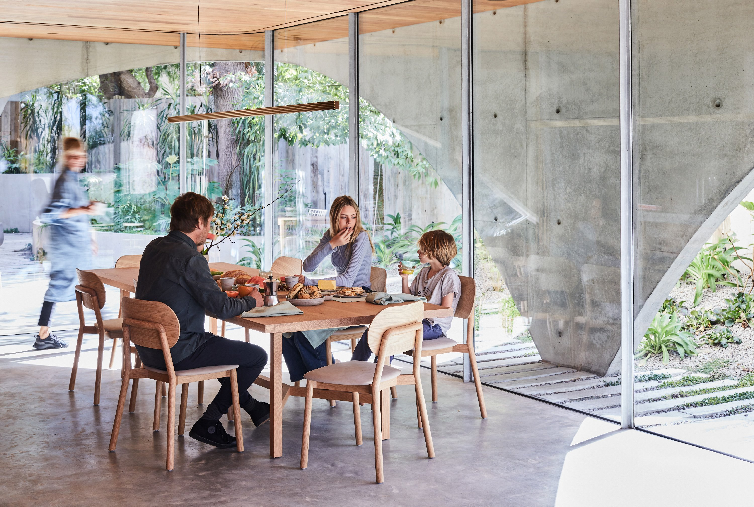 Cooper Dining Table + McKenzie Dining Chair