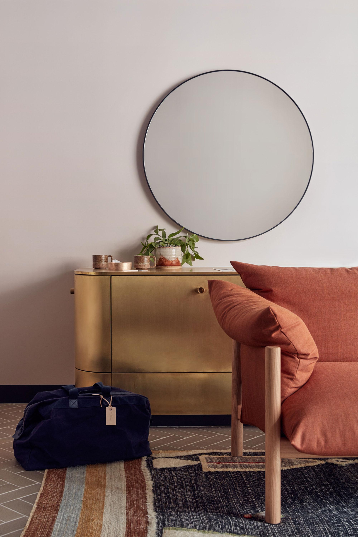 Wilfred 2.0 Seater Sofa + Dari Black Rug