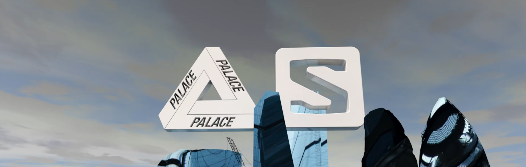 Palace x Salomon