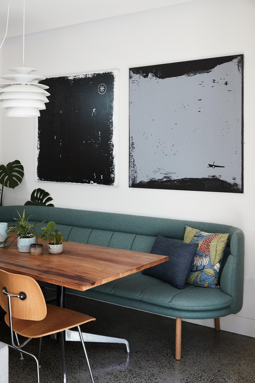 Franklin sofa (custom) + Matilda cushion