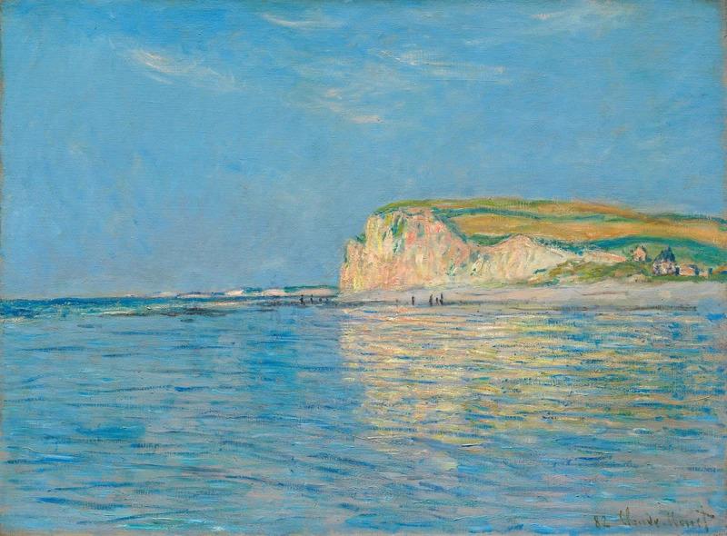 Monet. Low Tide at Pourville, near Dieppe, 1882