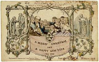 Henry Cole Christmas Card