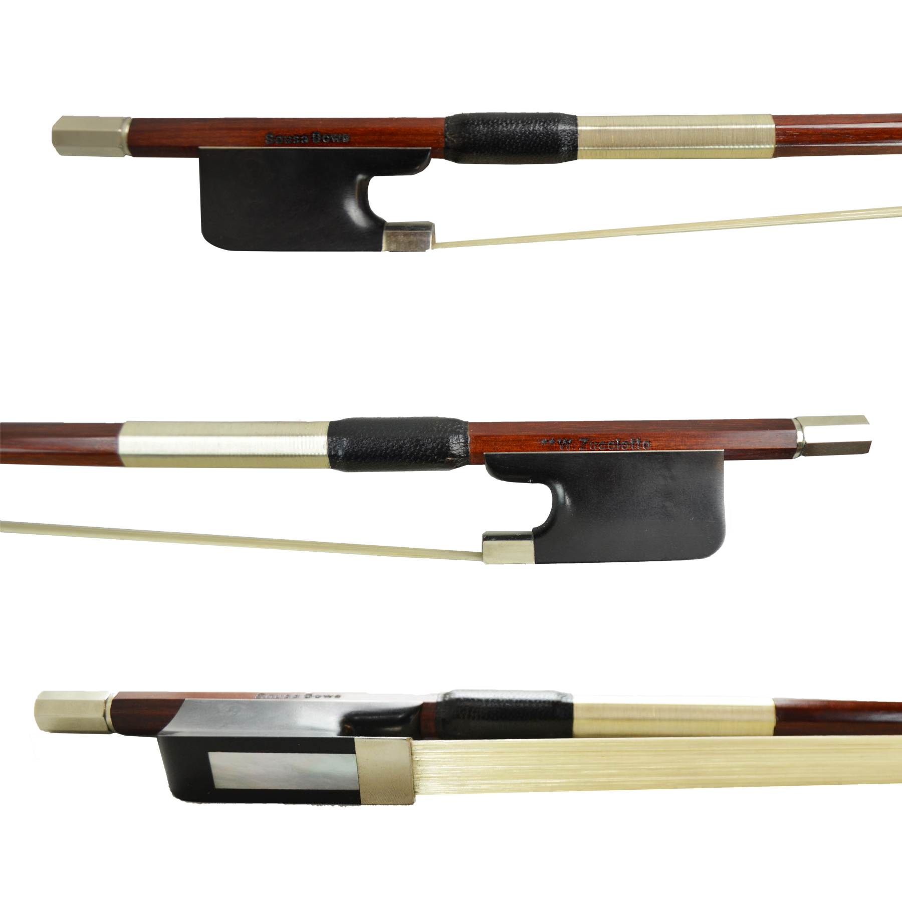 Sousa Bows Artisan Viola Bow in action