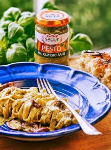 Gennaro Contaldo's Creamy Pesto Pasta