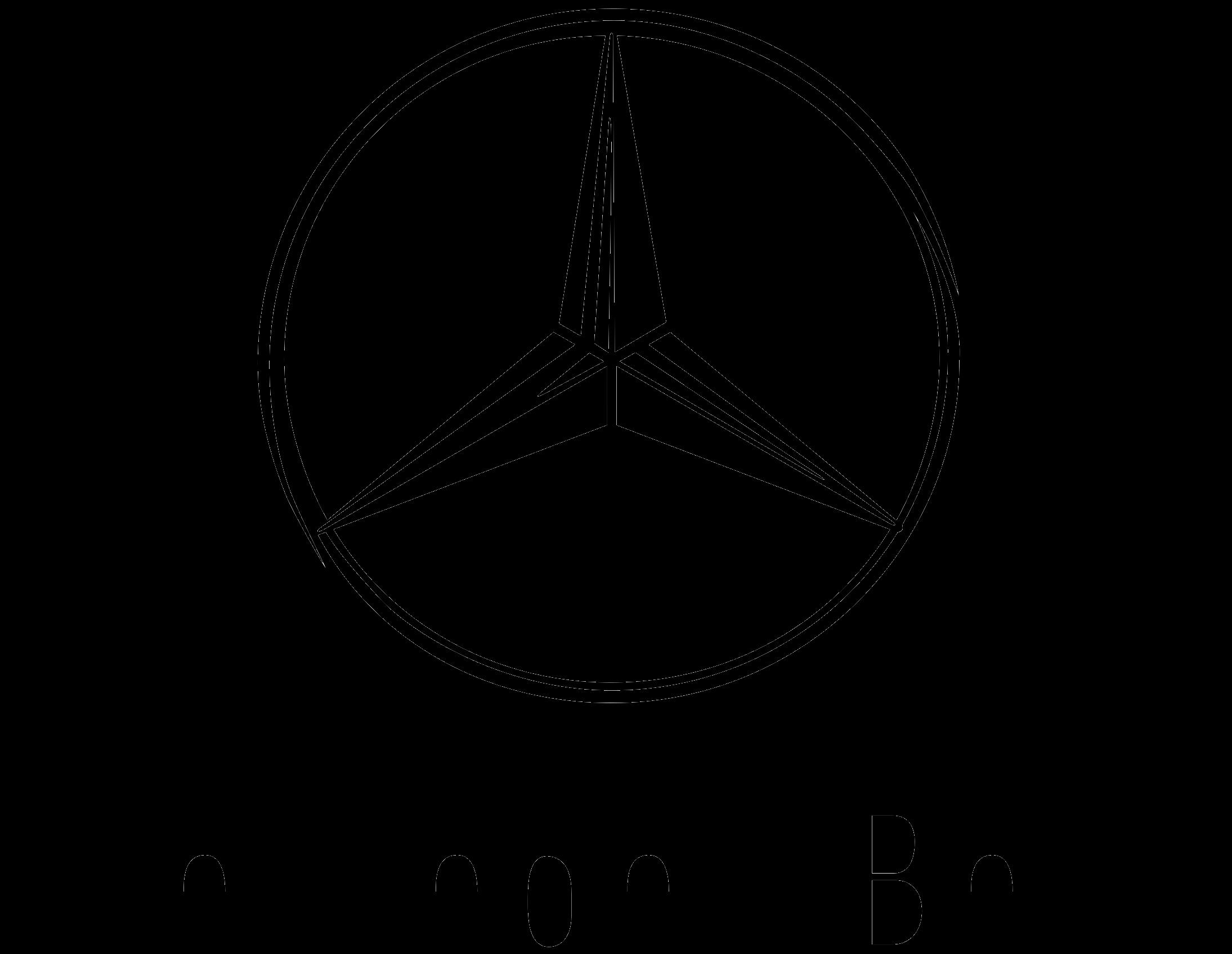Mercedes S Class manufacturer logo