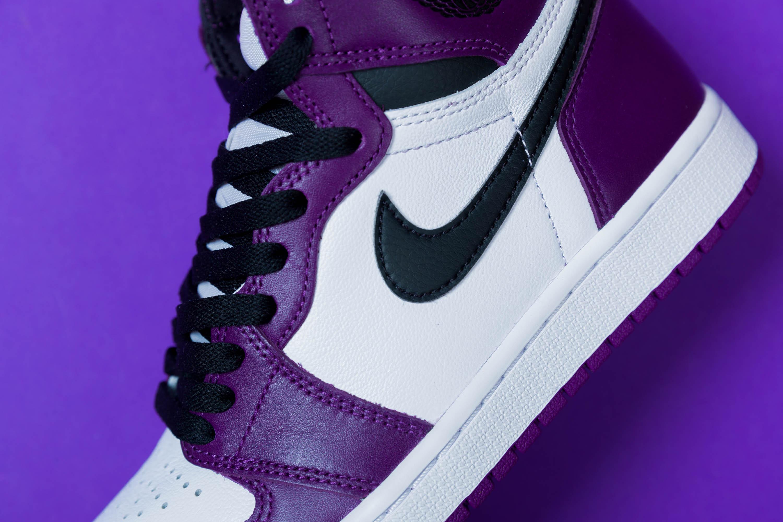 Nike Air Jordan 1 'Court Purple' Raffle